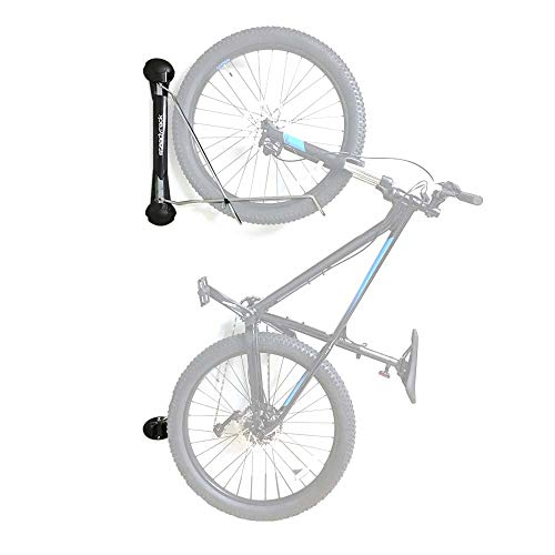 Steadyrack Bike Rack - Wall Mounted Bike Storage Solution for your Home, Garage or Commercial Application. Easy Install. Swings 180 degrees for More Floor Space - Mountain Bike Rack