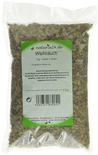 Naturix24 Weihrauch, Olibanum indisch 1. Wahl – Beutel, 1er Pack (1 x 1 kg)
