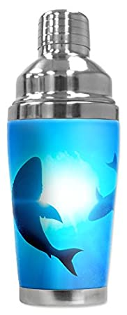 Shark cocktail shaker image