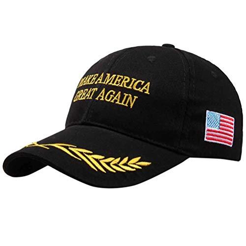 Make America Great Again Trump Baseball Cap Unisex Baseball Kappen Einstellbare Trump Cap USA Flaggen Baseball Mütze Brief für Männer Frauen