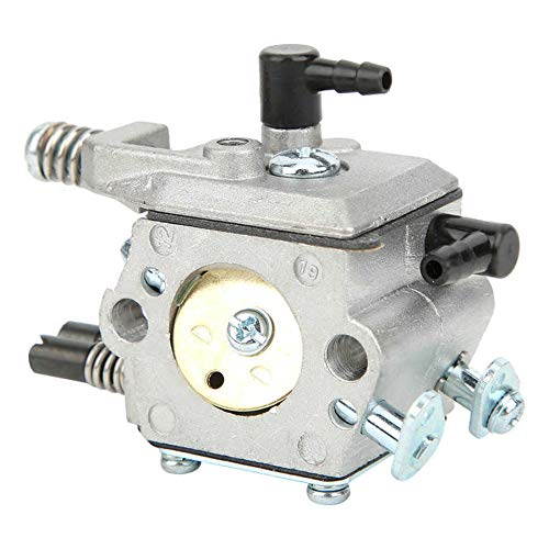 liutao Carburador Motosierras Carburador Compatible con Chino 5200 4500 5800 52cc 45cc 58cc ANODICADO ANONEDED Muerte DE Aluminio DE Aluminio DE Aluminio Partes del Motor