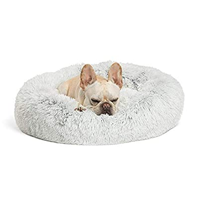 Best Friends by Sheri The Original Calming Shag Vegan Fur Donut Cuddler (Multiple Sizes)