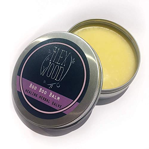 Vegan Herbal Healing Salve 'Boo Boo Balm' for skin irritation, scrapes, bites and stings - 100ml