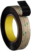3M Dual Lock Reclosable Fastener TB4575 Low Profile Black, 1 in x 10 ft (1 Mated Strip/Bag) (Renewed)