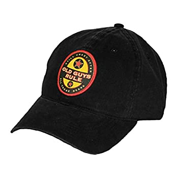 OLD GUYS RULE Men s Beer Label Hat  One Size  Black