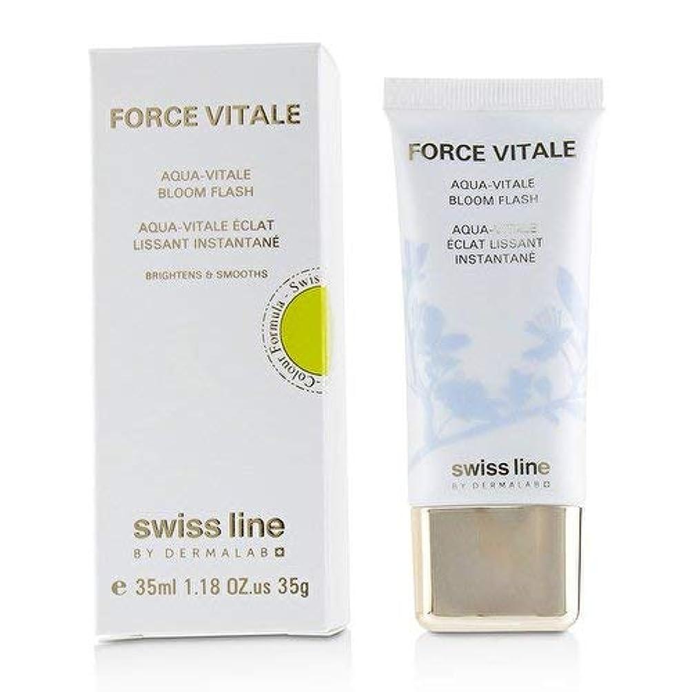 微生物スーツケース従事したスイスライン Force Vitale Aqua-Vitale Bloom Flash 35ml並行輸入品