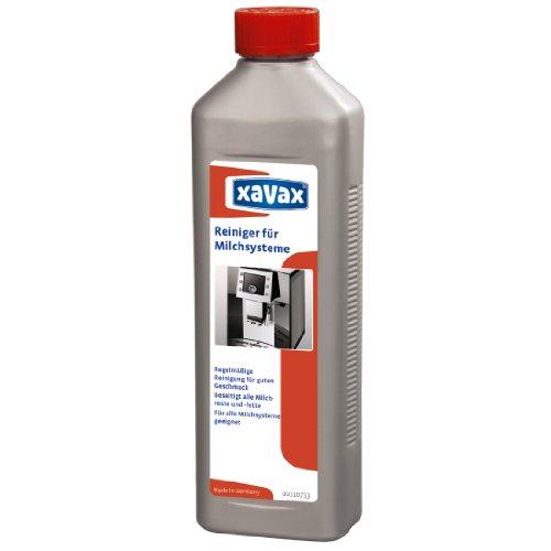 Xavax reinigingsconcentraat voor melkopschuim, geschikt voor levensmiddelen, 500 ml tot 25 toepassingen