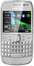 Nokia E6 Unlocked GSM Phone with Touchscreen, QWERTY Keyboard, Easy E-mail Setup, GPS Navigation, and 8 MP Camera - Silver