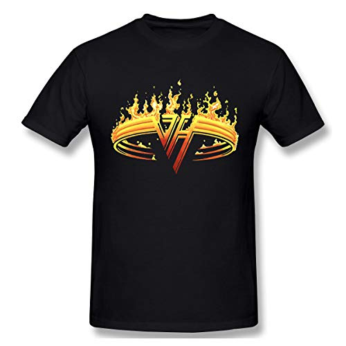 Men's Van Halen Fire Logo T-shirt, S to 6XL, many colors