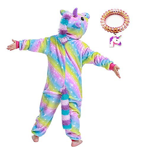 LANTOP Pijama de unicornio para niña, regalo de Navidad, Halloween, cosplay
