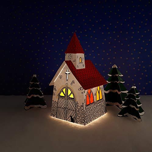 Oldenburger Mini Himmelshaus (inkl. LED Beleuchtung) Leuchthaus by Sterne vom Himmel (Capellchen)