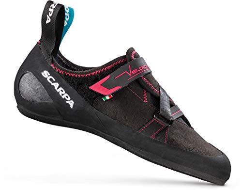 Scarpa Velocity Kletterschuhe Damen Black/Raspberry Schuhgröße EU 40 2020 Boulderschuhe