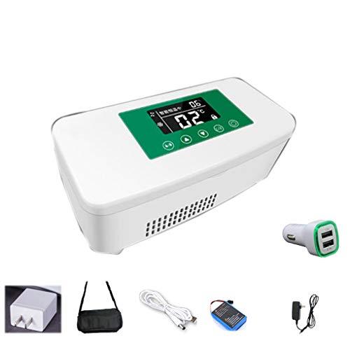 JF Insulin-Kühlschrank-Box, tragbar, kleiner Kühlschrank, konstante Temperatur, Ladung Mini-Kühlschrank B