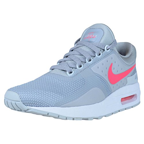 Nike Air Max Zero Essential Gs - Wolf Grey/Racer pink-White-pur, Größe:6Y