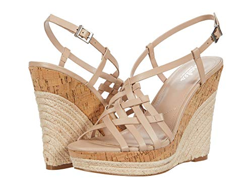 CHARLES BY CHARLES DAVID Women's Authentic Platform, Nude, 9.5