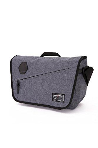 SwissGear SA5320 Messenger Bag, Heather Gray