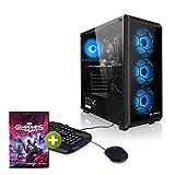 "Megaport PC-Gaming AMD Ryzen 5 3500 • GeForce RTX3060 12GB • 16GB 3000MHz RAM• Schermo LED 24"" • 2000GB HDD • Tastiera/Mouse • Windows 10 • desktop pc fisso pc completo gaming"