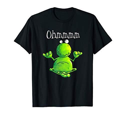 Ohmmm Yoga Frosch T Shirt I Meditation Entspannung Fun Shirt