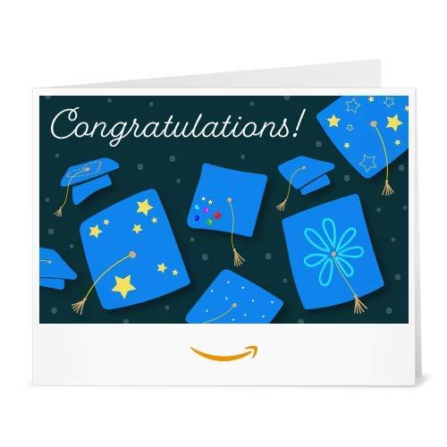 Amazon Gift Card - Print - Decorated Graduation Caps