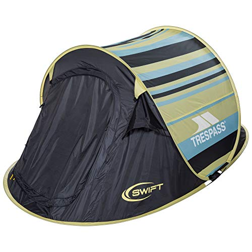 TRESPASS Swift2 Tente Mixte Adulte Jaune Taille Unique