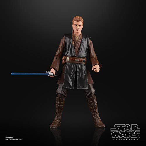 STAR WARS The Black Series Anakin Skywalker (Padawan) Toy 6' Scale Attack of The Clones Collectible Figure, Ages 4 & Up