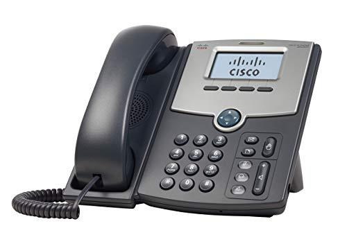 Teléfono IP remanufacturado SPA502G de 1 línea de Cisco, garantía limitada de hardware de 1 año del producto de la pequeña empresa de Cisco (SPA502G-RF)
