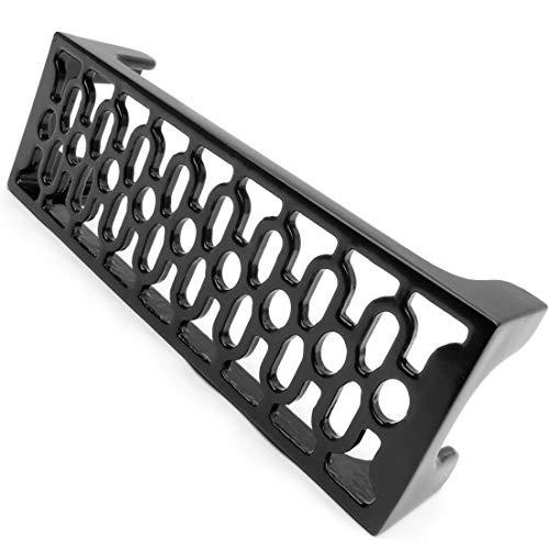 Vintage estilo victoriano de metal fundido Hierro rejilla de ventilación aire ladrillo pared ornamentado tendedero
