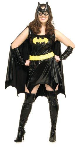 Women's Official Plus Size Batgirl Costume. Size 18-22