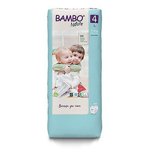 Preisvergleich Produktbild Bambo Nature Premium Eco Windeln,  Maxi-Größe 4,  7-14 kg