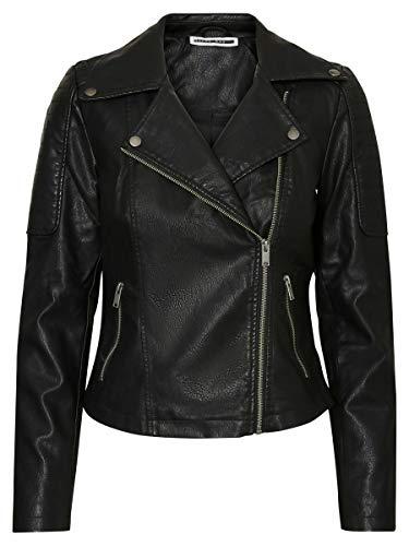 Name It NMREBEL L/S Jacket-Noos Giacca, Nero (Black), 42 (Taglia Produttore: Small) Donna