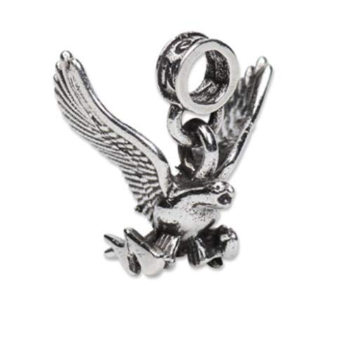 .925 Sterling Ranking TOP6 Silver Charm Falcon Quantity limited United U USAF Air Force States