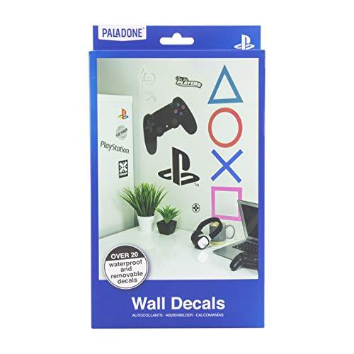Paladone PP6581PS Playstation 22 Stickers Perfect cadeau voor gamers | Waterdicht, Verwijderbaar Vinyl Muurstickers, Meerkleurig