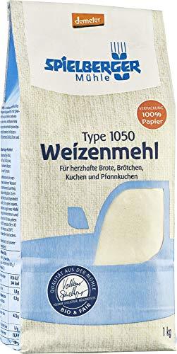 Spielberger Bio Weizenmehl 1050, demeter (6 x 1 kg)