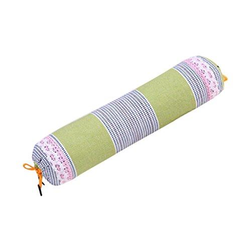 Nunubee Süßigkeit Geformtes Nackenrolle Kopfkissen mit Abwaschbarem Baumwoll-Bezug Buchweizen Füllung Weiche Kissen Lendenkissen, Modell 11