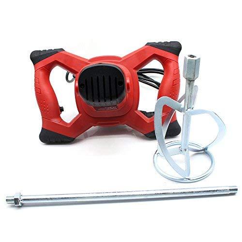 Agitador de mortero (1500 W, 6 velocidades) mezclador profesional, agitador, agitador, agitador...