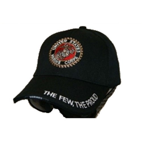 US Marines The Few The Proud Embroidered Baseball Cap Hat by RFCO