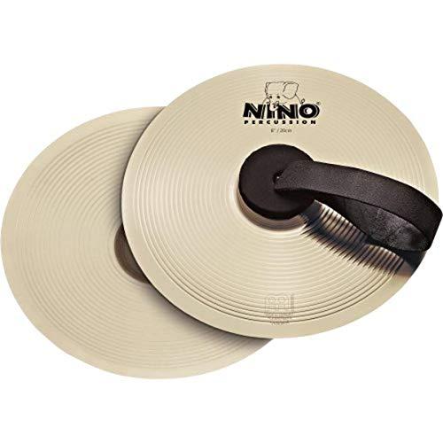 Meinl Nino 8 inch Cymbal Pairs - Nickel Silv
