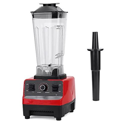 Licuadora batidora eléctrica de 2 l, 4500 W, sin BPA, licuadora Profesional de encimera, batidora, fácil de Limpiar
