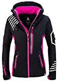 Rock Creek Damen Softshell Jacke Windbreaker Regenjacke Übergangsjacke Softshelljacke Damenjacke...
