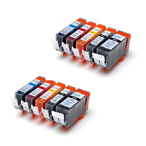 Generic PGI-225 CLI-226 10-Pack Non-OEM Ink for PGI-225 CLI-226 Pixma ip4820/iP4920/MG5120/MG5220