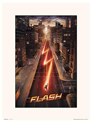 ERIK - Lámina decorativa DC The Flash (30x40 cm)