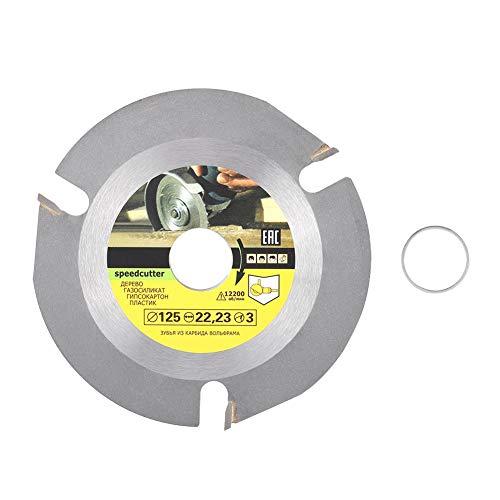 Yonhchop 1 stück Kreissägenschleifer Cut Multitool Grinder Sägescheibe Hartmetallbestückte Holztrennscheibe Holzschneider