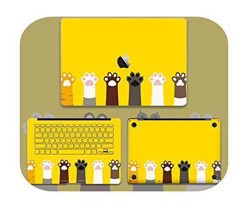 Lovely Cute Laptop Sticker For Macbook Pro Air 11 13 15 Retina Full body Skin Cover Protector Sticker Cute kawaii Protector Skin-4-Pro15 A1286 CD ROM