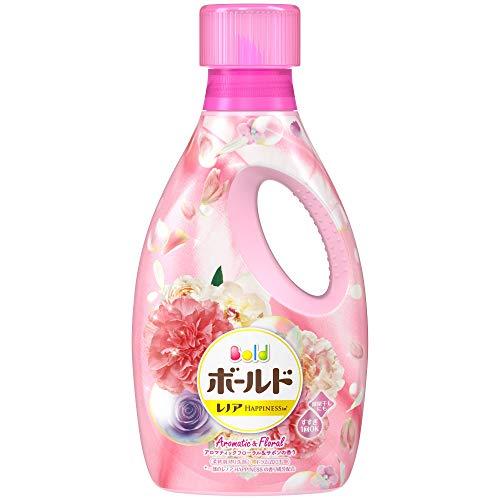 洗濯洗剤 液体 柔軟剤入り ボールド アロマティックフローラル&サボンの香り 本体 850g