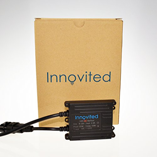Innovited 35w Ac Digital Ballast for H1 H3 H4 H7 H10 H11 9005 9006 D2r D2s Universal Fit