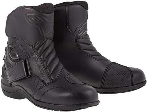 Alpinestars Gunner Wp - Botas de moto, color negro, talla 40