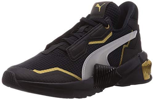 PUMA Provoke XT WN'S, Zapatillas de Gimnasio para Mujer, Negro Black Team Gold, 36 EU