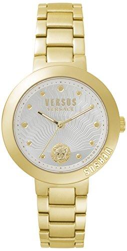 Versus by Versace dames analoog kwarts horloge met roestvrij stalen armband VSP370517