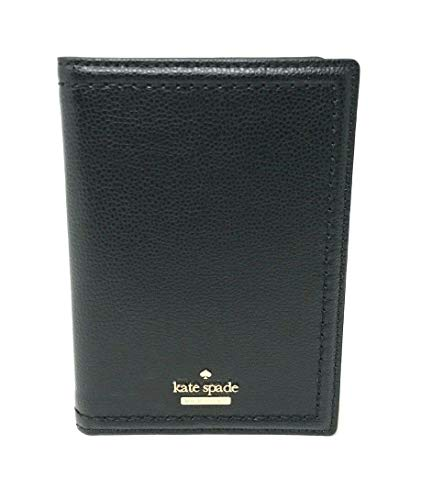 Kate Spade New York Women's Imogene Patterson Drive Leather Passport Wallet (Black)