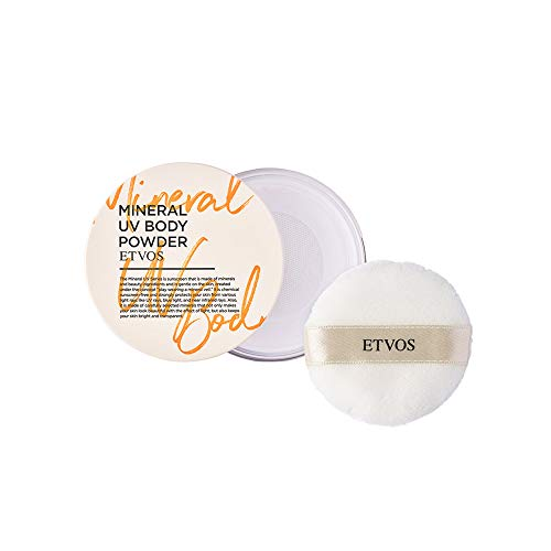 ETVOS(エトヴォス)ミネラルUVボディパウダー2021UVパウダーUVボディパウダーボディパウダーUV対策日焼け止め敏感肌オーガニック無添加低刺激紫外線吸収剤不使用ノンケミカル全身用